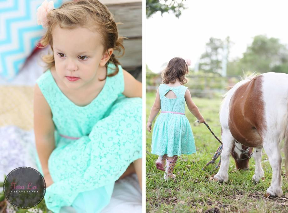 Olivia & the pony009