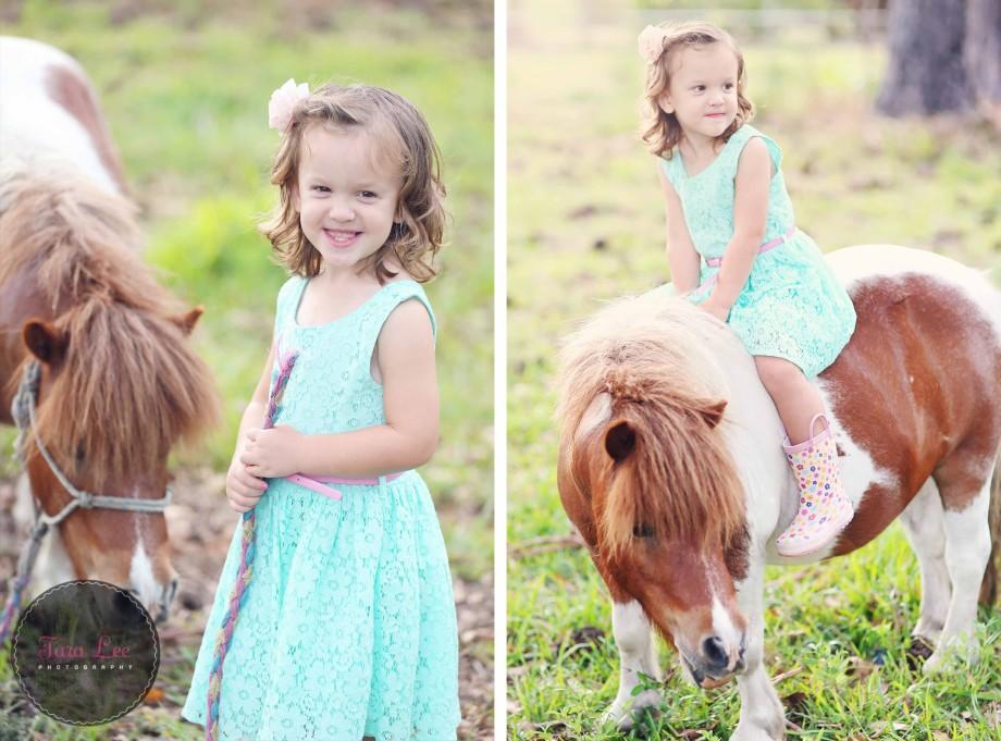 Olivia & the pony012
