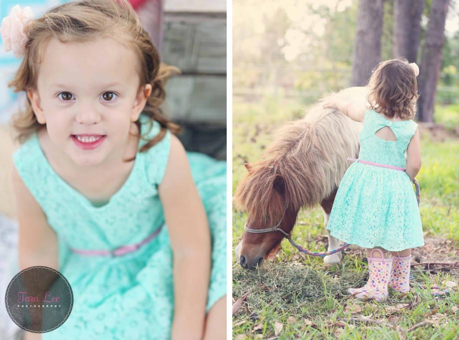 Olivia & the pony021