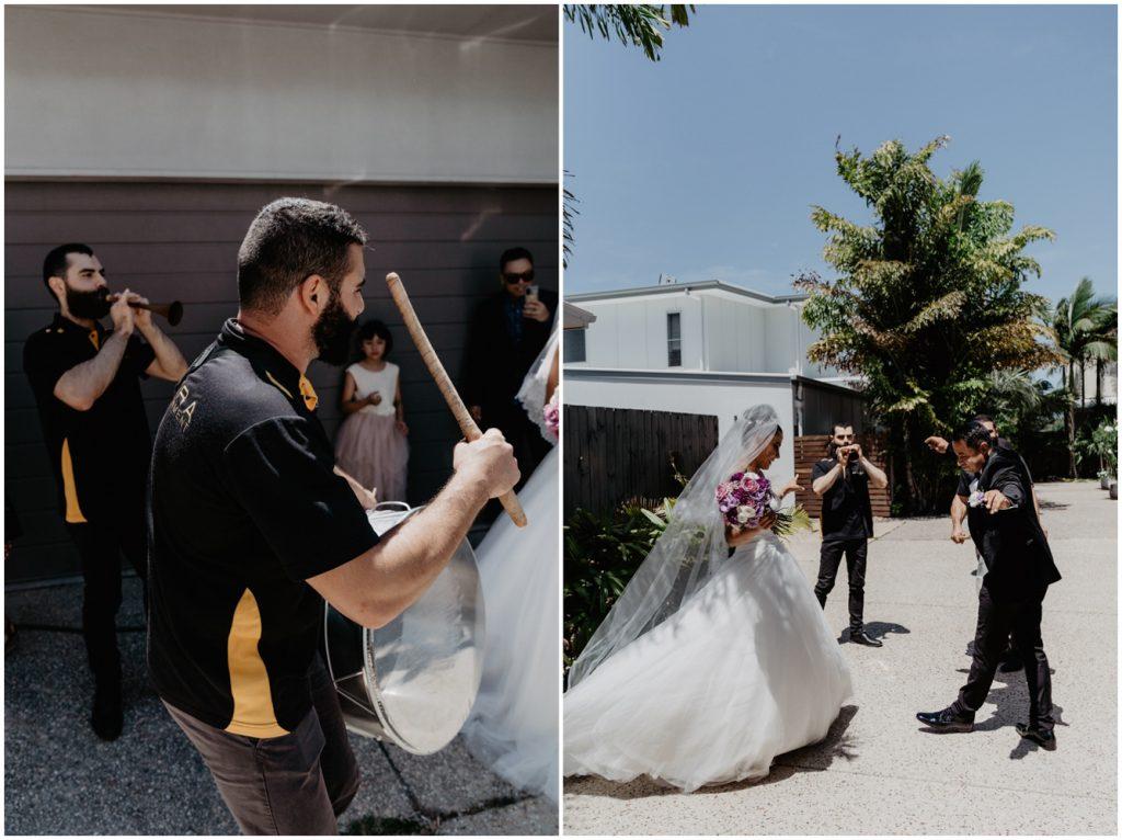 twin waters wedding