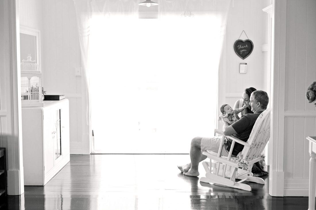Sunshine Coast newborn photography session