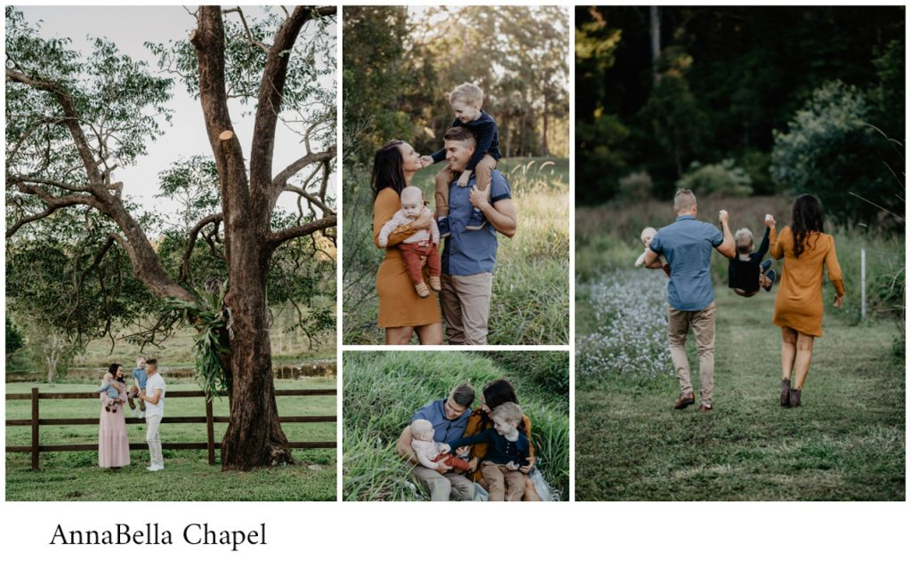 Annabella chapel family photo session