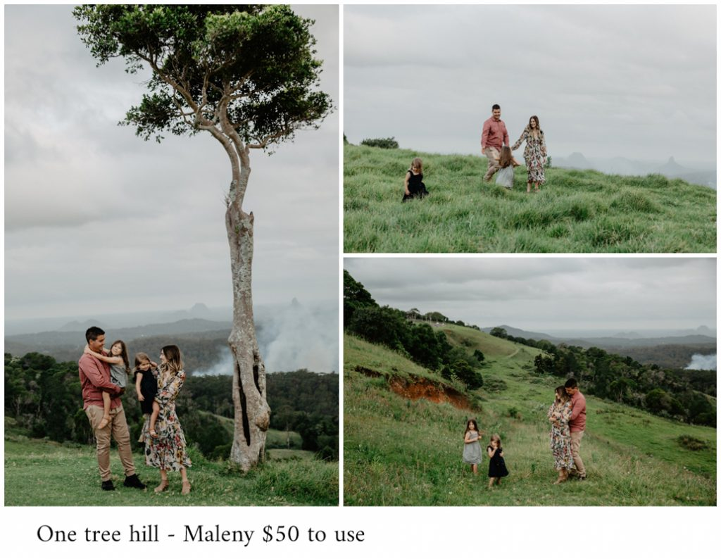One tree hill photoshoot in maleny